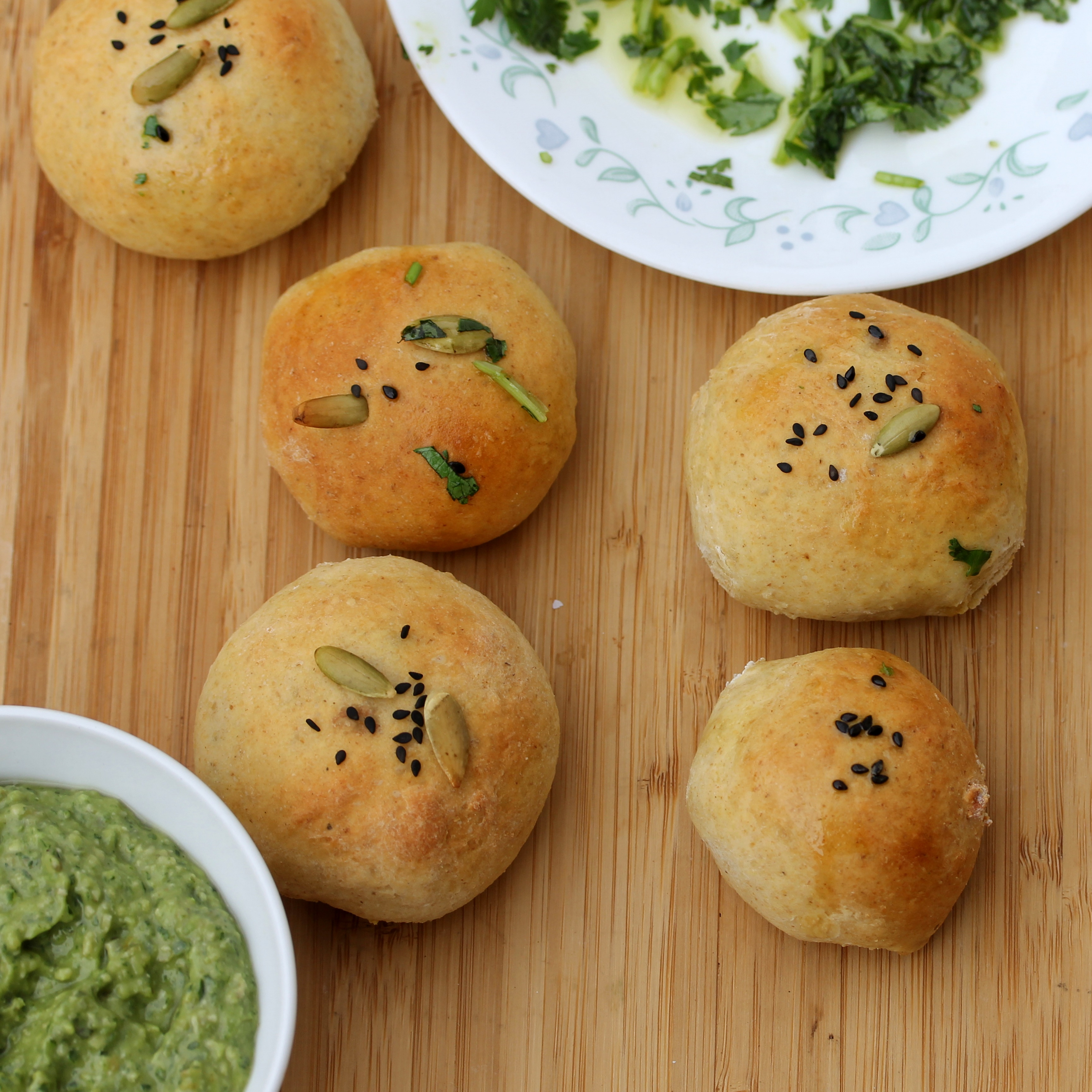 Stuffed Naan Rolls - Proofing in the instant pot - Spice